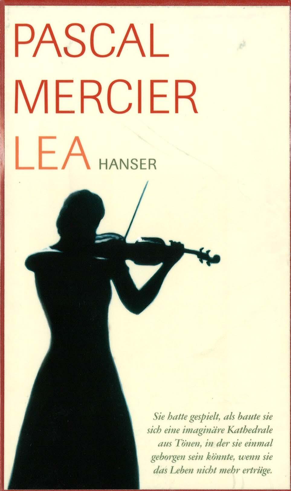 Pascal Mercier. Lea